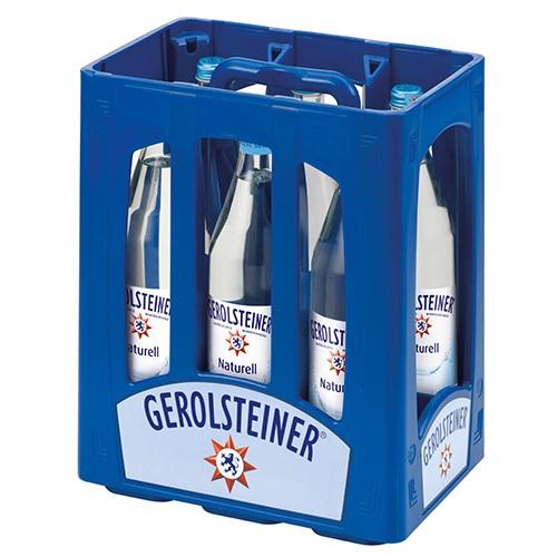 Gerolsteiner Naturell (Glas-Flaschen)