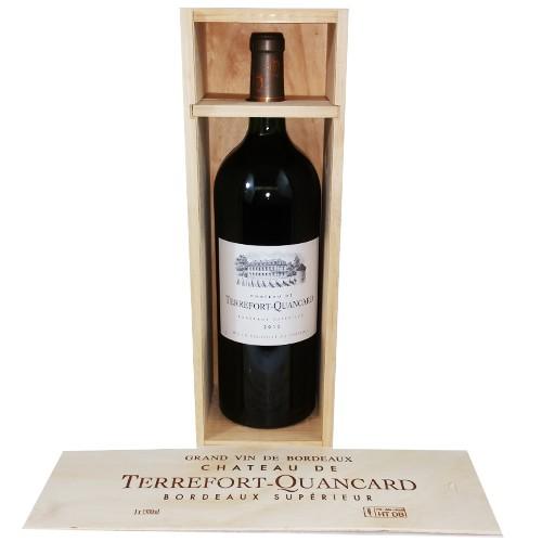 Terrefort-Quancard Bordeaux Supérieur 2012 1,5l Geschenkp. 13%