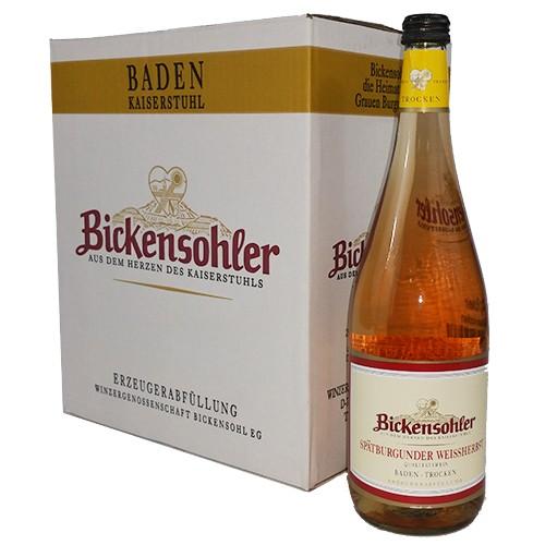 Bickensohler Spätburgunder Weißherbst trocken 12%