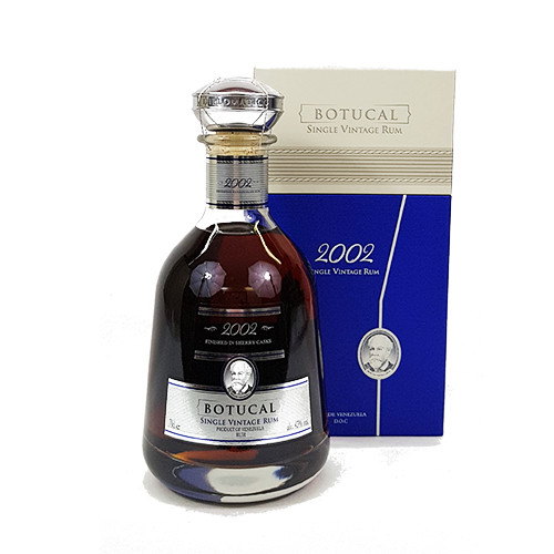 Botucal Single Vintage 2002 Rum 43% (0,7l) | Viel-Durst