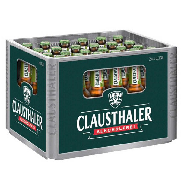 Clausthaler Naturtrüb Alkoholfrei