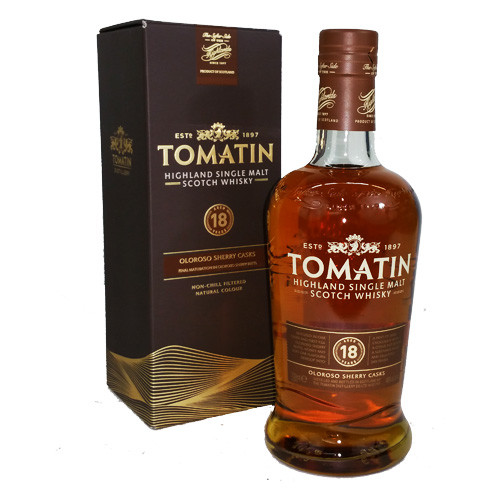 Tomatin - Single Malt 18 YEARS 46%