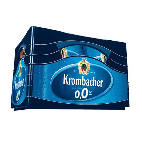 Krombacher 0,0% alkoholfrei
