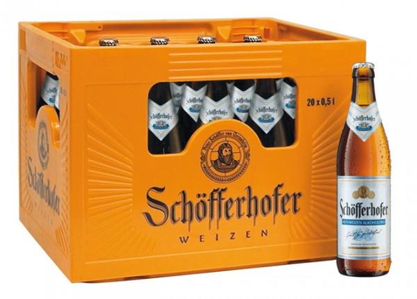 Schöfferhofer Hefe Alkoholfrei
