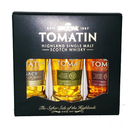 Tomatin Coopers Choice Miniset 43%;43%;46%
