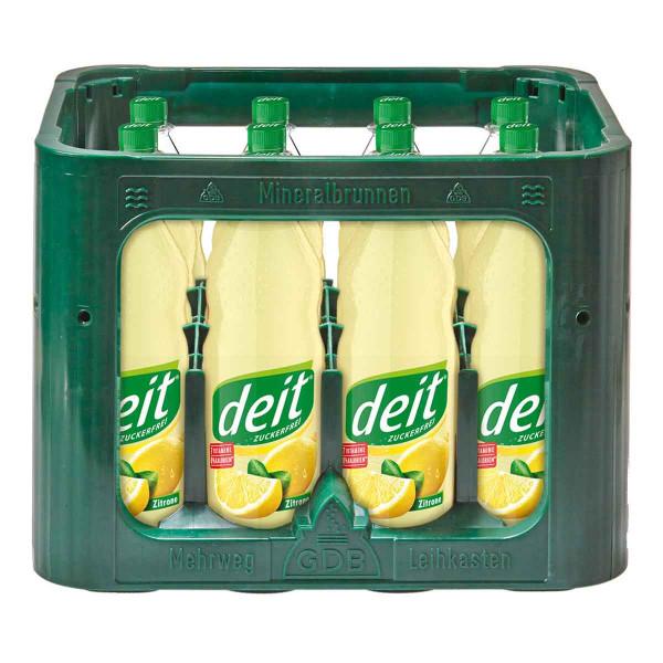 Deit Zitrone trüb