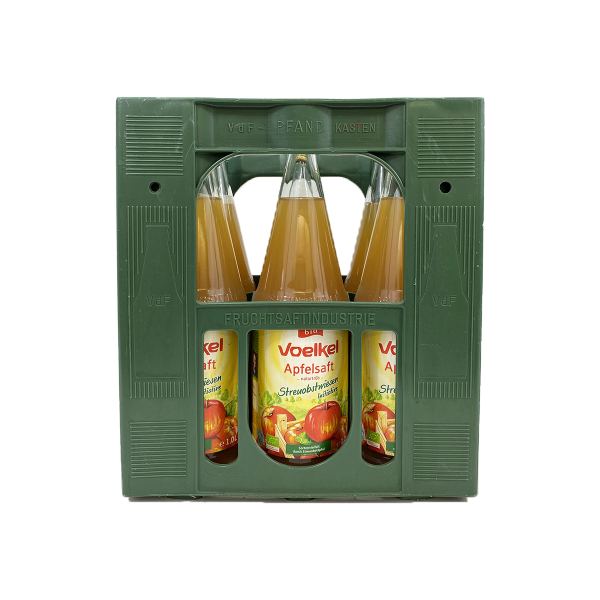 Voelkel Apfelsaft naturtrüb aus Bio-Streuobst