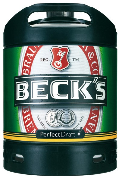 Beck 's Pils PerfectDraft 6 Ltr. Faß
