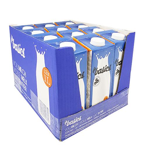 H-Milch My Basics ultrahocherhitzt 3,5% Fett