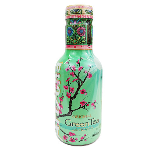 AriZona Green Tea mit Honig 0,5 DPG