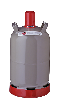 Gas Propan 11kg GRAU=(KAUF)