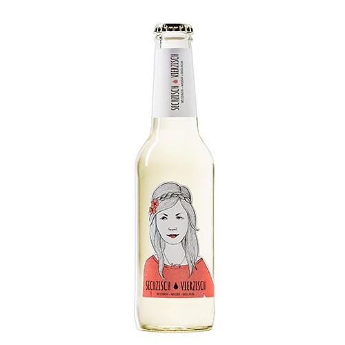 Sechzisch-Vierzisch Weisswein+Wasser+Basilikum 6,4%