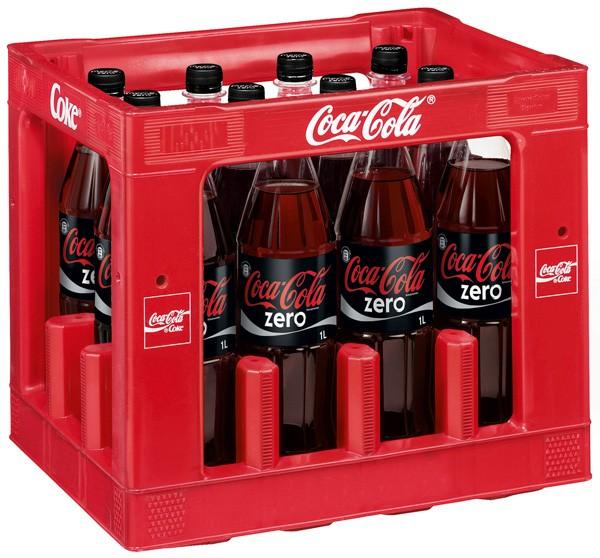 Coca Cola Zero (PET)