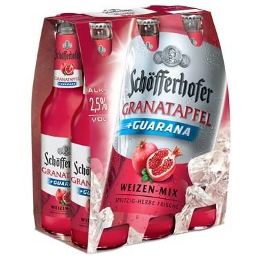 Schöfferhofer Granatapfel-Guarana Weizen-Mix