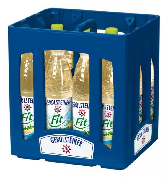 Gerolsteiner Fit Apfel - Zitrone