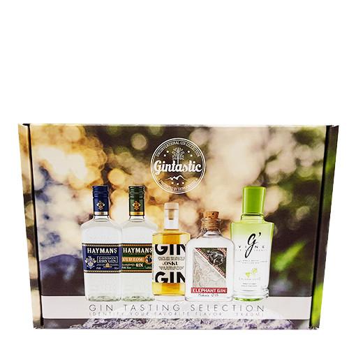 Gin Tasting Selection 26%;41,4%;42,6%;45%;46,3%